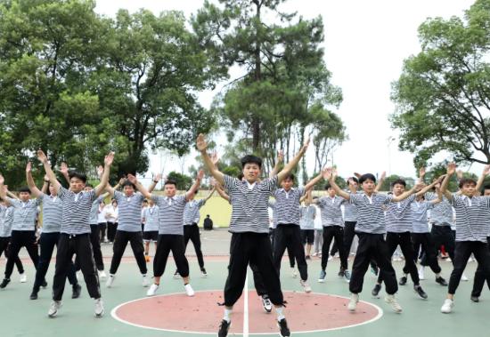 向祖国深情告白丨衡铁运校第一届自编广播体操比赛